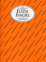 FLUTE FANCIES With Piano Accompaniment Classical Sheet Music Book Shop Soiled