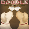 LABRADOODLE DOG ART PRINT RETRO STYLE ADVERT POSTER Golden Doodle Coffee Co