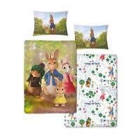 Peter Rabbit Junior Bed Reversible Duvet Set Beatrix Potter Kids Bedding Set