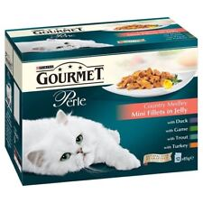 Purina Gourmet Perle Country Medley Mini Fillets in Jelly - Pouch (12x85g)