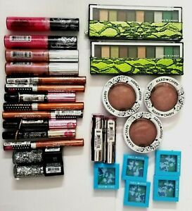 Lot of 47 ASSORTED HARD CANDY Cosmetics, Lipgloss, Lipstick, Blush, Eyeshadow,