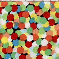 Bright Circles Michael Miller 100% cotton fabric by the yard