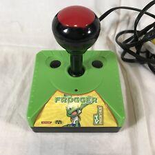 Frogger Arcade TV Plug Play Joystick Controller Game Konami Camping Portable