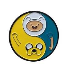 ADVENTURE TIME Enamel PIN YIN YANG FINN AND JAKE Hat Lapel Backpack Pin