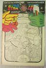 """STAR TREK Two Poster Kit Unused 1976 In Plastic 14.5"""" x 22"""" Star Trek Live NOS"""