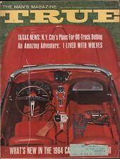 True Magazine November 1963 Taxax News w/ML EX 010516DBE