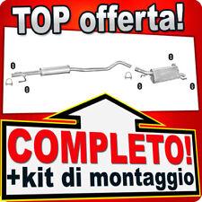 Scarico Completo OPEL CORSA C 1.2 1.4 16V 2000-2006 Marmitta J15