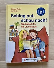 Schlag auf, schau nach!. Wörterbücher und CD für die Grundschule 2019