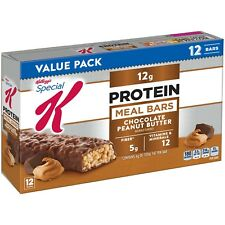 Kellogg's Special K Protein Meal Bars Chocolate Peanut Butter 12 Count Box New
