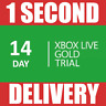 14 DAYS XBOX LIVE MEMBERSHIP CODE PASS -2 WEEKS MICROSOFT XBOX ONE/360 --INSTANT