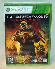 GEARS OF WAR JUDGMENT XBOX 360 BRAND NEW & FACTORY SEALED