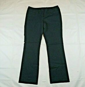 The Limited Ideal Stretch Women's Sz 8S Casual Pants Blue Low-Rise Flat Front