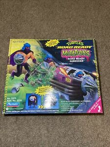 TMNT MUTATIONS Road Ready SHREDDER new in box 1993 collector toys vintage