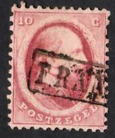 PAYS BAS-    -N°: 5 - USED  YEAR 1864  CV: 10 €