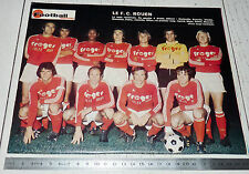 CLIPPING FOOTBALL 1975 1976 FC ROUEN ROBERT-DIOCHON DIABLES ROUGES
