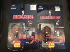 1996 NBA Headliners Jamal Mashburn & Damon Stoudamire Raptors Heat Figures NIB