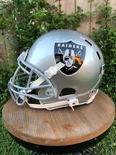 New Oakland Raiders / Las Vegas Raiders Full Size Football Helmet & Facemask