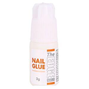 The EDGE Nails Adhesive Glue For False Nail Tips SUPER STRONG 3g