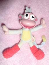 "Monkey 5"" Boots Dora Explorer stuffed plush 2001 Fisher Price vinyl head Mattel"