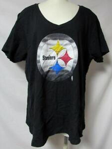 Pittsburgh Steelers Women's Size 3XL Short Sleeve T-Shirt A1 4377