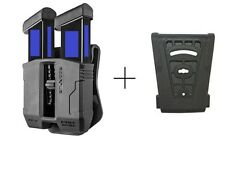FAB Defence PS-9 Double Magazine Pouch for steel magazines 9/40 made in israeal