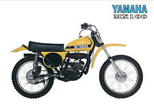YAMAHA Poster MX100 MX100A VMX 1974 Superb Suitable to Frame