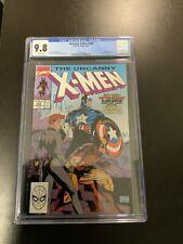 Uncanny X-Men 268 CGC Graded 9.8 Marvel Comics 1990 Jim Lee Cover White Pages