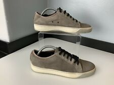 Lanvin Mens Sneakers, Beige, Python Toe, Size Uk 7 Eu41 GC