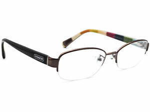 Coach Eyeglasses HC 5004 Bettie 9025 Dark Silver Half Rim Frame 51[]16 135