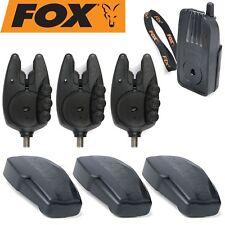 Fox Micron RX+ 3er Bissanzeiger Set - 3 Funkbissanzeiger + 1 Receiver