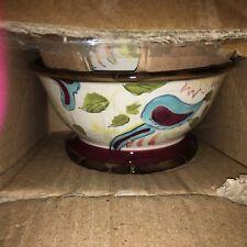 New Tracy Porter Cerise Soup Bowl