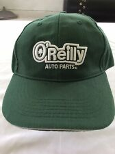 O'Reilly Auto Parts Baseball Hat Green Embroidered Cap Work Uniform Hat Box 1