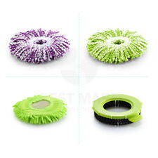 Replacements Rotating Microfiber Mop Heads Easy Magic Spinning Scrub Brush
