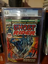 GHOST RIDER #1 CGC 8.5 WHITE PAGES 1st App. Son Of Satan Daimon Hellstrom1973