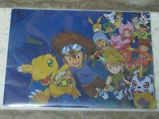 Digimon TRW CLEAR FILE + MOVIE POSTER (Tai Matt Sora Mimi Kari TK Izzy Joe tri.)