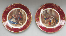 "2 x Weatherby Hanley Royal Falcon Ware ""CRIES OF LONDON"" Decorative Tea Plates"