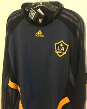 Adidas Formotion MLS LA Galaxy Soccer Training Top RARE Blue NEW Men's XL NWT