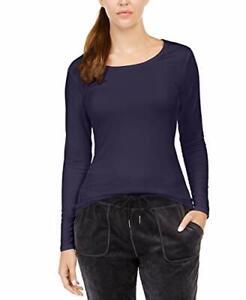 $20 32 Degrees Women's Cozy Heat Underwear Top Heather Gothic Grape Size Small