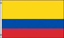 2x3 Colombia Flag 2'x3' House Banner grommets super polyester