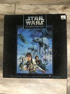 Vintage Star Wars Empire Strikes Back 550 Piece Puzzle 1995 Milton Bradley