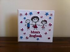 New Newborn Baby Photo Album Mum's Brag Book Mini Gr8 Mother's Day Gift