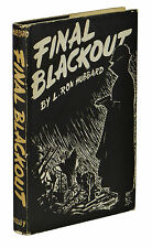 Final Blackout ~ L. RON HUBBARD ~ First Edition ~ 1st Printing 1948