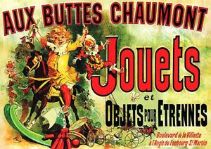 "Friends Poster Aux Buttes Chaumont Jouets 33""x 23"" A1 Size Poster! **UK SELLER**"