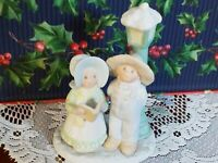 """Circle of Friends """"JOY TO THE WORLD""""by Masterpiece 1992 HOMCO Porcelain Figurine"""