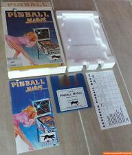 ~ PINBALL MAGIC ~ Commodore Amiga/boîte d'origine ~ Original en Boîte ~ English