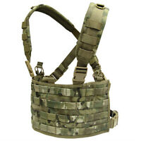 CONDOR MOLLE Tactical Nylon OPS Chest Rig  Vest mcr4 Crye Multicam Camo