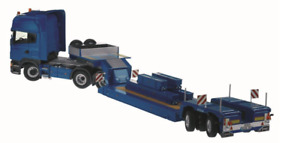 NZG 1:50 SCALE SCANIA R 4 AXLE TRUCK AND NOTTEBOOM 2 AXLE TRAILER - 757/20