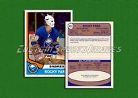 Rocky Farr - Buffalo Sabres - Custom Hockey Card  - 1973-74