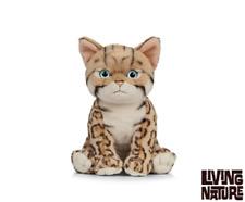 Living Nature Bengale chaton-AN448 réaliste Animal Moelleux Peluche en peluche Teddy