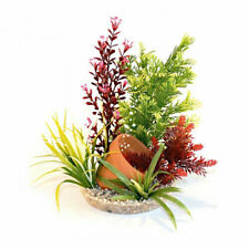 Sydeco Plants & Gravel Base Terracotta Pot Ornament Decoration with Air Diffuser